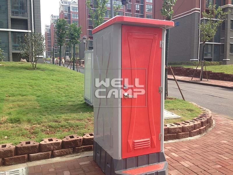 WELLCAMP, WELLCAMP prefab house, WELLCAMP container house-Public Movable Portable Toilet, Wellcamp T