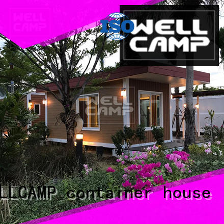 WELLCAMP, WELLCAMP prefab house, WELLCAMP container house eco friendly modern container homes wholesale for hotel