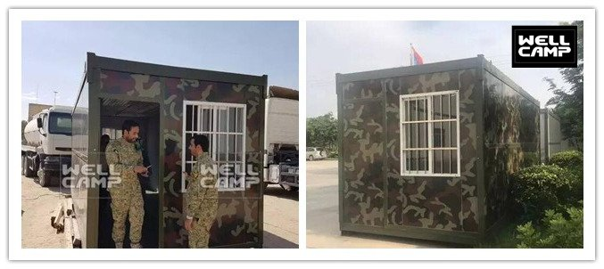 WELLCAMP folding container house