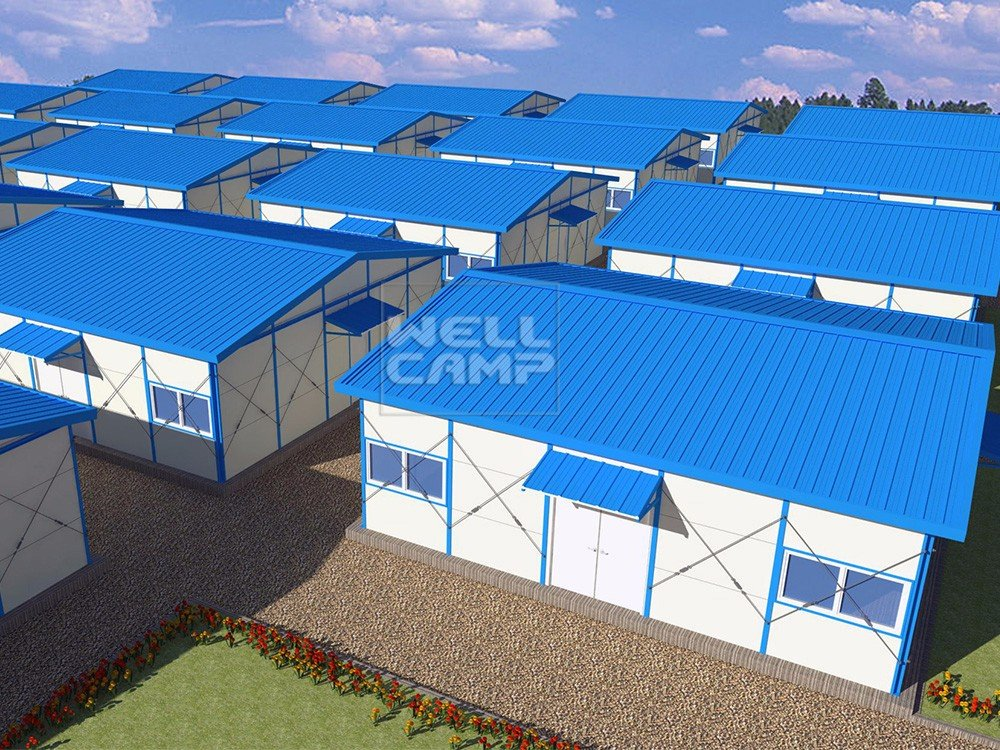 WELLCAMP, WELLCAMP prefab house, WELLCAMP container house- Mobile Low Cost steel Prefab House For La-2