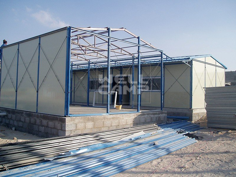 WELLCAMP, WELLCAMP prefab house, WELLCAMP container house- Mobile Low Cost steel Prefab House For La-3