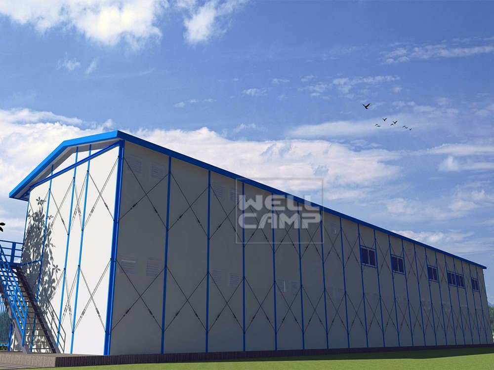 WELLCAMP, WELLCAMP prefab house, WELLCAMP container house- Widely Used Mobile Prefab Houses For Acco-2