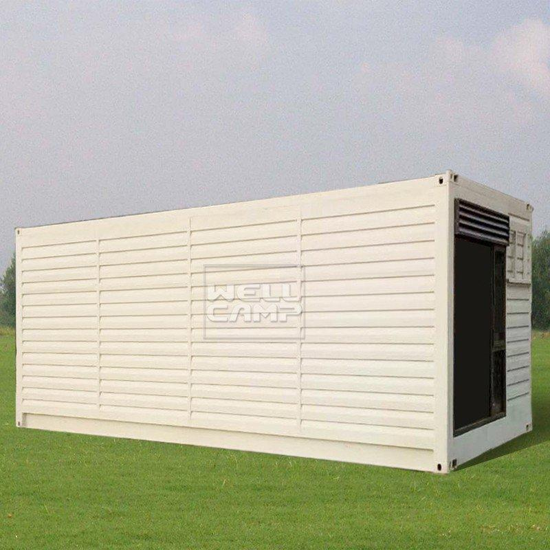 shipping container house for villa resort Fire proof door Aluminum sliding modern shipping container house