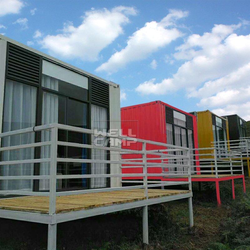 WELLCAMP, WELLCAMP prefab house, WELLCAMP container house Modern Shipping Container House for Villa Resort, Wellcamp SC-3 Shipping Container House image94