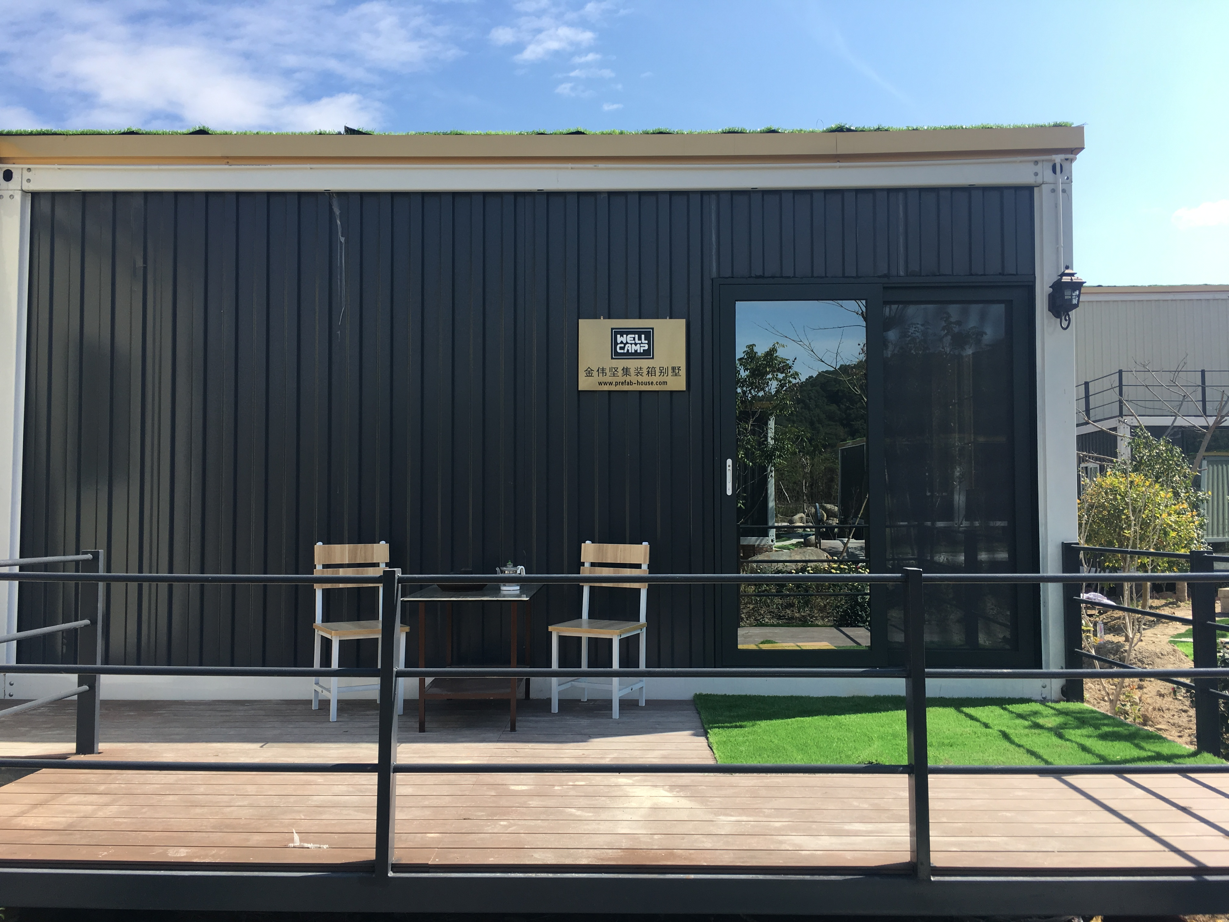 Easy Installed Container Resort House for Hotel & Labour Camp-WELLCAMP, WELLCAMP prefab house, WELLCAMP container house