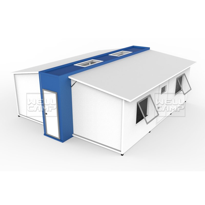 WELLCAMP, WELLCAMP prefab house, WELLCAMP container house Easy Install Expandable Container Shelter House for Living, Wellcamp E-1 Expandable Container House image73