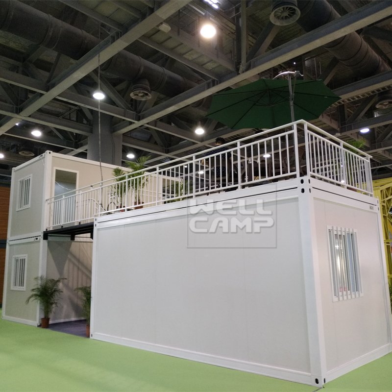 WELLCAMP, WELLCAMP prefab house, WELLCAMP container house Newest Two Floor Flat Pack Container House, Wellcamp FL-01 Flat Pack Container House image60