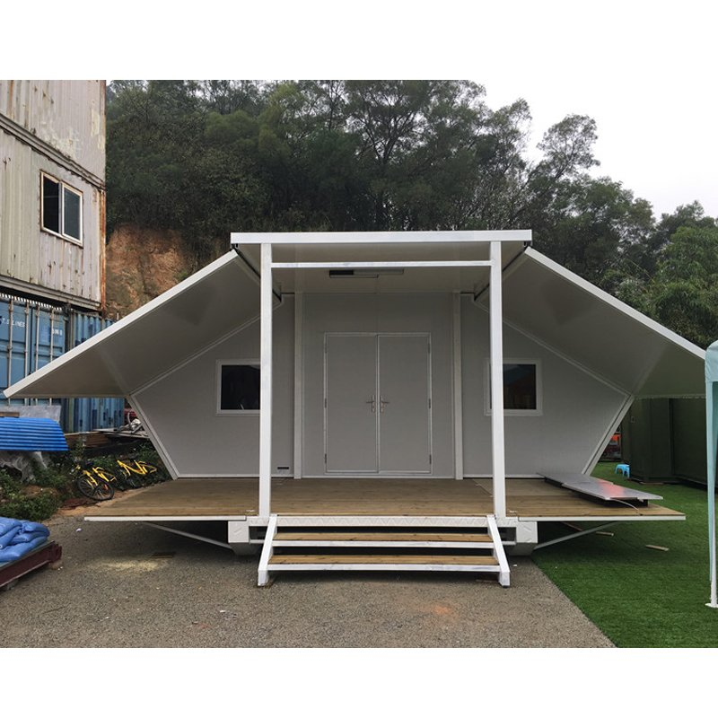 WELLCAMP, WELLCAMP prefab house, WELLCAMP container house 40ft Expandable Container House For Apartment & Wedding Room, Wellcamp E-02 Expandable Container House image55