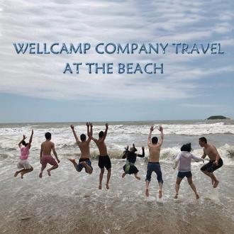 Wellcamp company trip in Huizhou