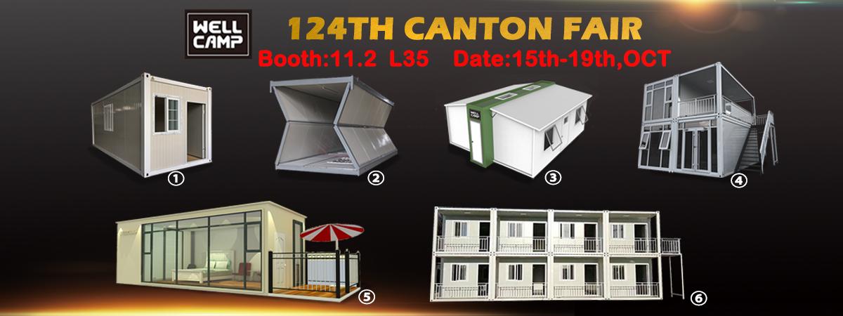 WELLCAMP, WELLCAMP prefab house, WELLCAMP container house-124th Canton Fair - Wellcamp Prefab-house