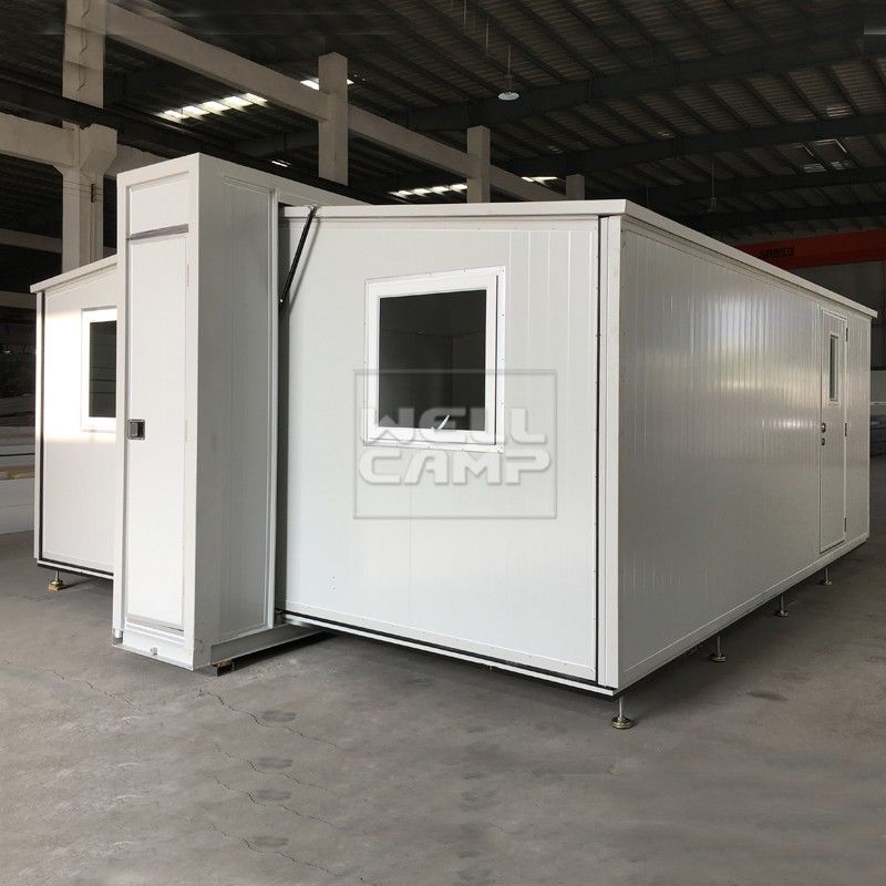 WELLCAMP, WELLCAMP prefab house, WELLCAMP container house-2018 New Fast Install Expandable Container-2