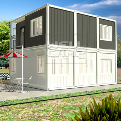 WELLCAMP, WELLCAMP prefab house, WELLCAMP container house-Find Container Villa 2 Story Modern Manuf
