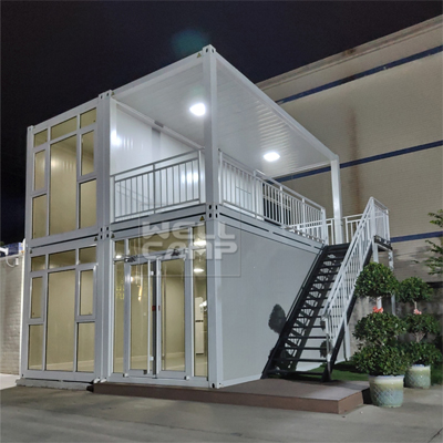 WELLCAMP, WELLCAMP prefab house, WELLCAMP container house-Hot Container Villa New Affordable Moder