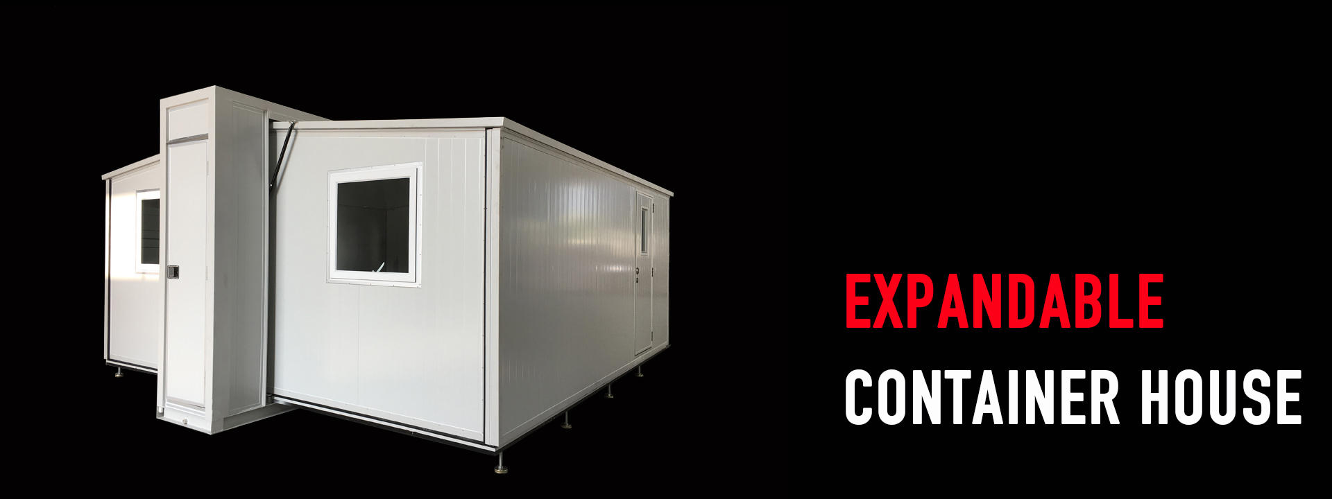 category-expandable shelter-WELLCAMP, WELLCAMP prefab house, WELLCAMP container house-img-1