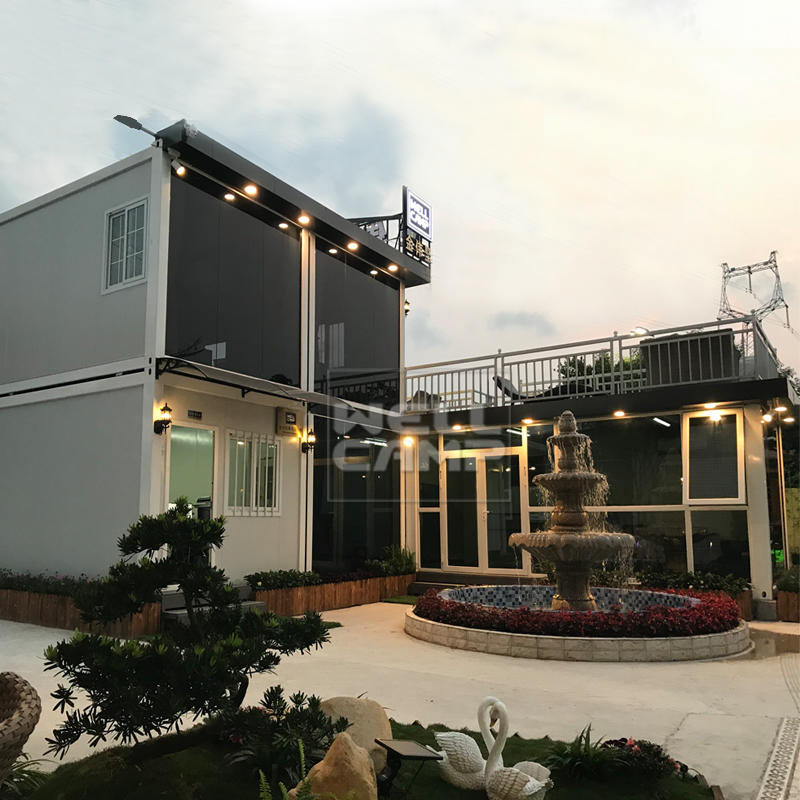 Wellcamp Two Floor Luxury Container Home Container Office,Wellcamp-CV11