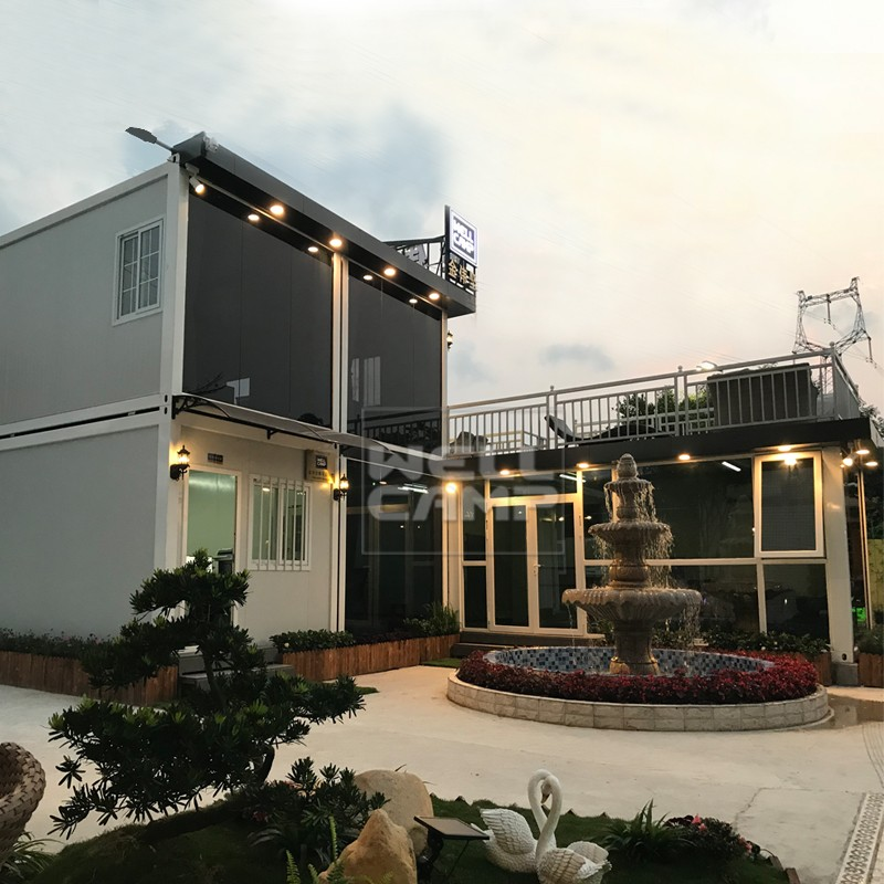 WELLCAMP, WELLCAMP prefab house, WELLCAMP container house-Professional China Luxury Living Container-1
