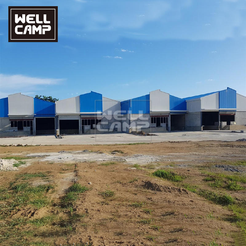 Wellcamp Mitsubishi Steel Structure Workshop In Colombia