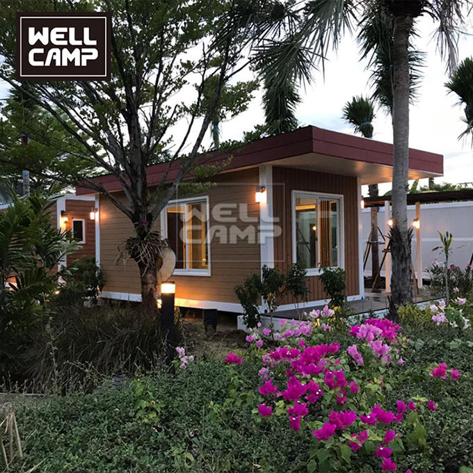 Wellcamp Romantic Container Villa Resort in Thailand