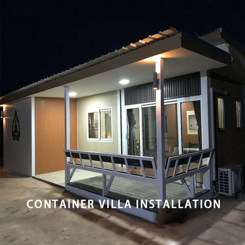 Wellcamp Container Villa Installation