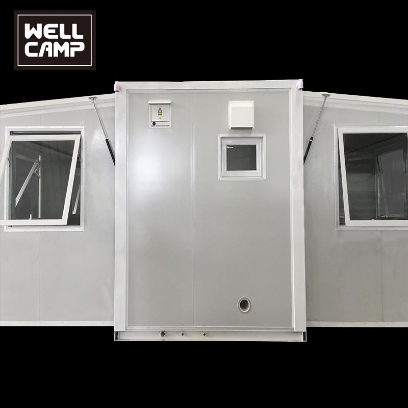 USA Germany Standard Two Bedroom Expandable Container House