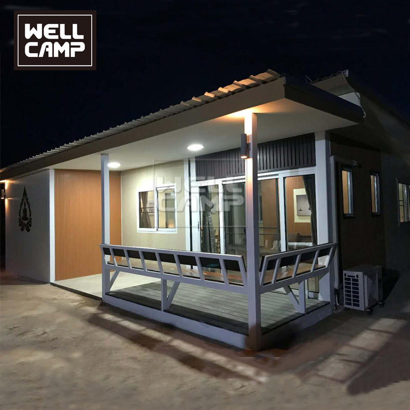 Thai Style Container Home Combined by Flat Pack Container House