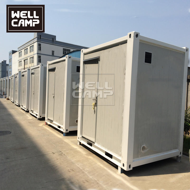 Wellcamp Portable and Movable Container Toilet  and Shower Container