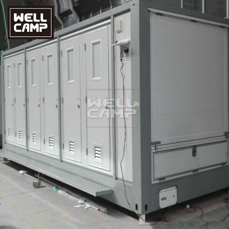 WELLCAMP, WELLCAMP prefab house, WELLCAMP container house-Custom Best Portable Toilet Manufacturer, -4