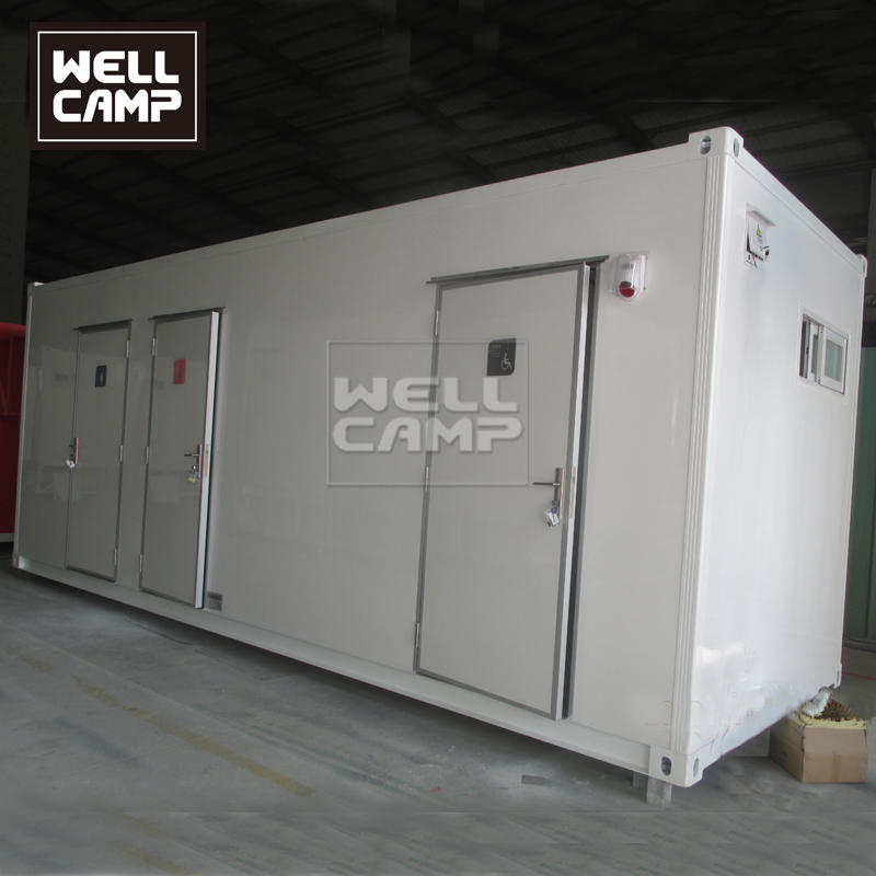 20ft Outside Expandable Shipping Container Toilet Container Bathroom