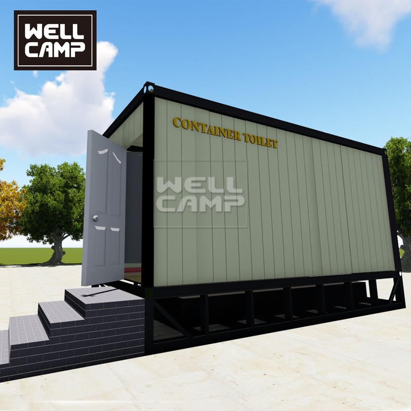 WELLCAMP, WELLCAMP prefab house, WELLCAMP container house-Custom Best Portable Toilet Manufacturer,