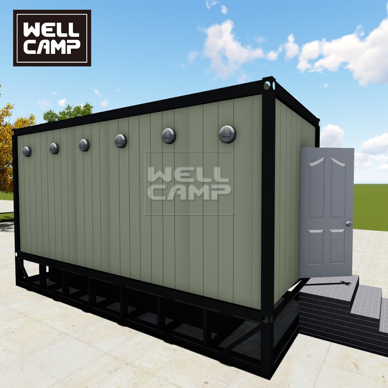 WELLCAMP, WELLCAMP prefab house, WELLCAMP container house-Custom Best Portable Toilet Manufacturer, -1