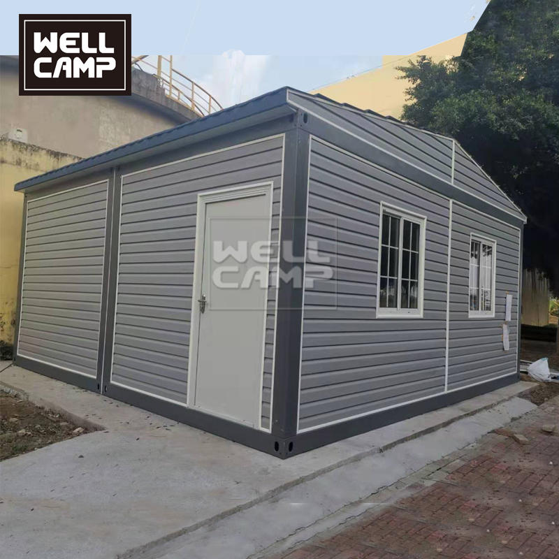 40ft Luxury Container Home with PVC Decoration Sheet Outside