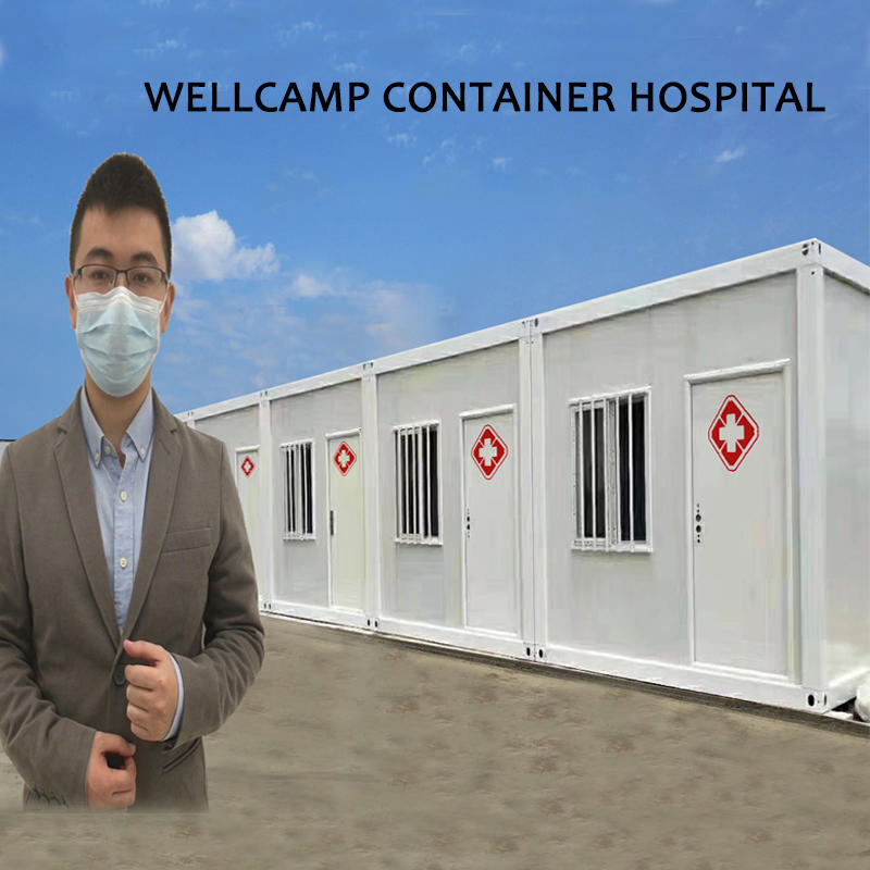 WELLCAMP Container Hospital for Community Corona Virus Control & Isolation
