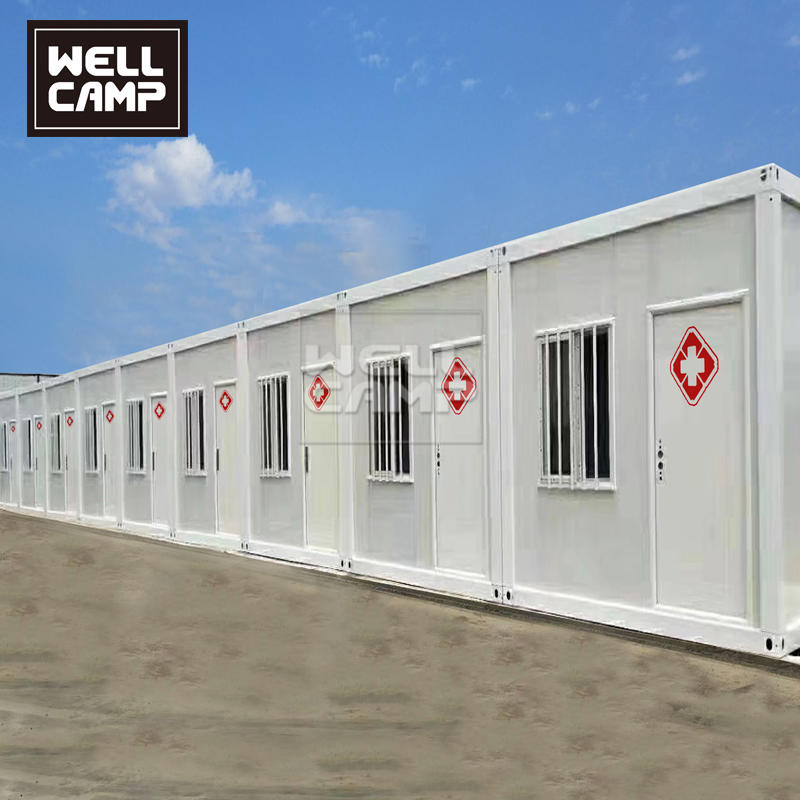 Ready Made Prefabricated Flat Pack Container Hospital Container Isolation Ward