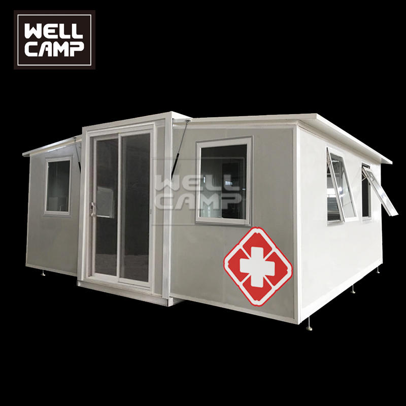 2020 Hot Sales Expandable Container Hospital/Container Clinic with Isolation Room