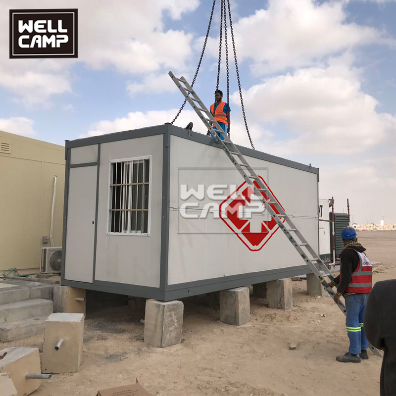 2020 Fast Install Prefab Container Isolation Room with Toilet