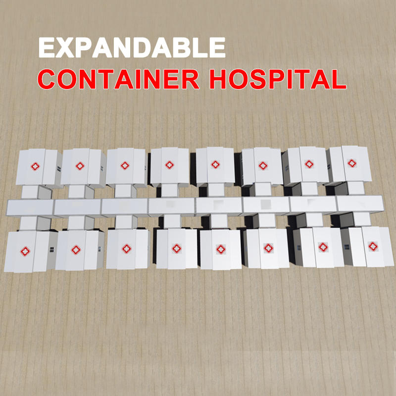 2020 Expandable Butterfly Container Hospital Container Clinic