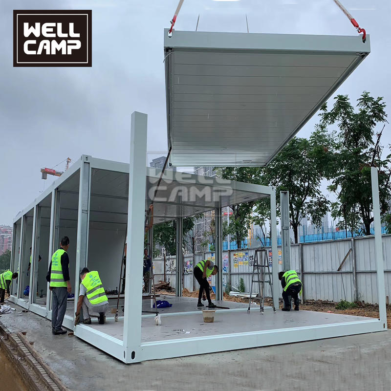 Two Floor Container Construction Container House Builders in China