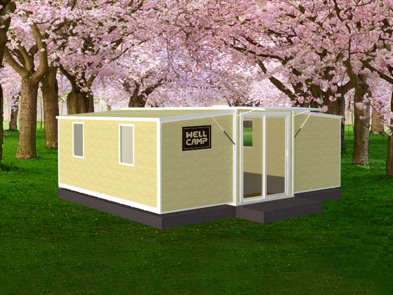 Wellcamp Finished Expandable Container Homes for Sale/Container Living