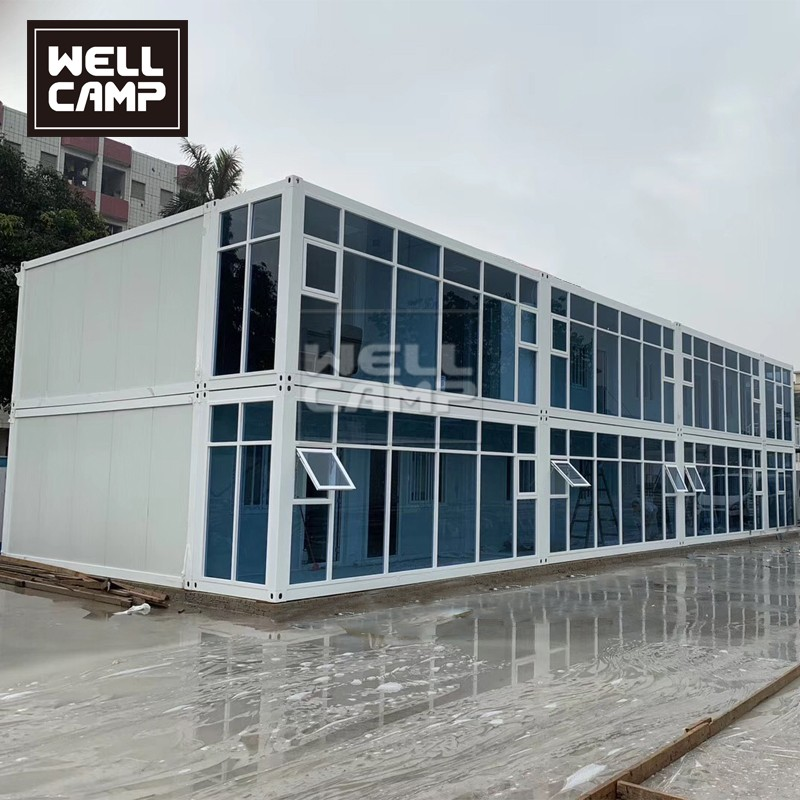 product-WELLCAMP, WELLCAMP prefab house, WELLCAMP container house-Luxury Modern Prefab Container Hou-1