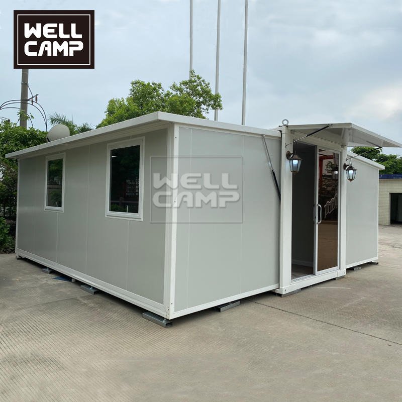 Luxury Prefab Container Homes with Two bedrooms One Bathroom
