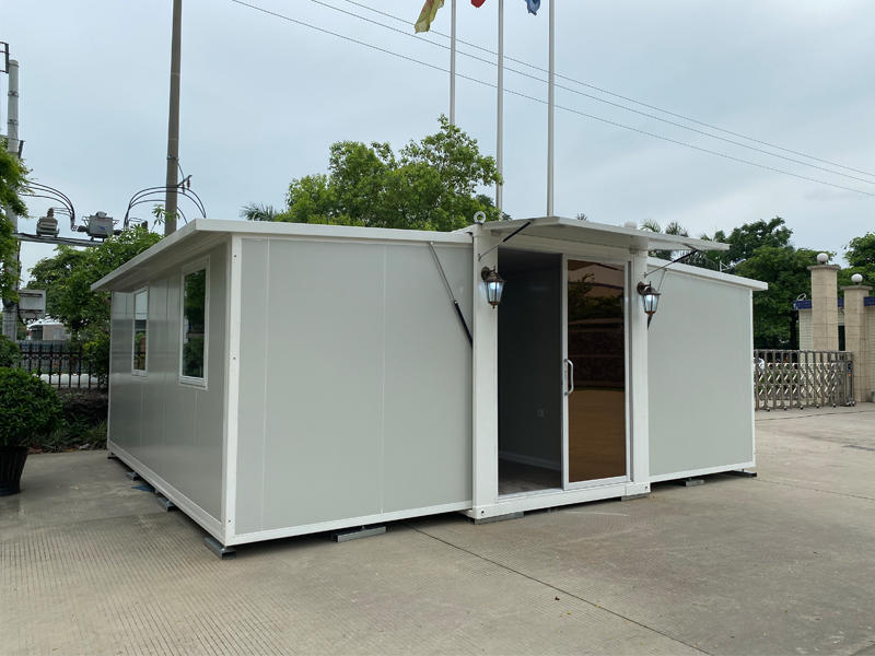 Factory Wholesales Two Bedrooms Folding Expandable Container Home for Sales