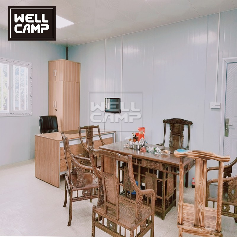 product-China Government Project Modern Prefab Modular HomesOffice for Sales-WELLCAMP, WELLCAMP pref