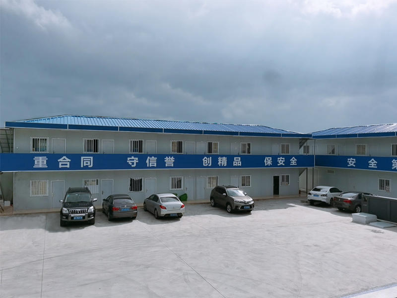 Government Project Two Floor Prefabricated Labor Camp for Prefab Office/ Accommodation