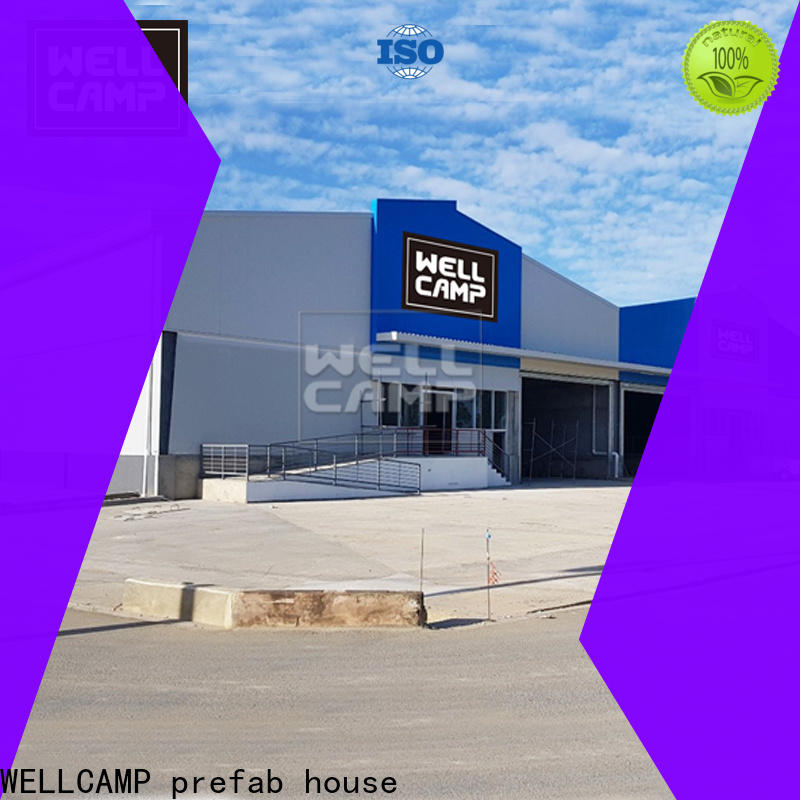 WELLCAMP, WELLCAMP prefab house, WELLCAMP container house prefabricated warehouse low cost for goods