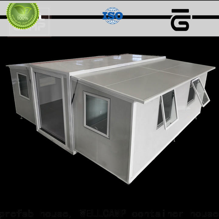 WELLCAMP, WELLCAMP prefab house, WELLCAMP container house container home ideas online for dormitory