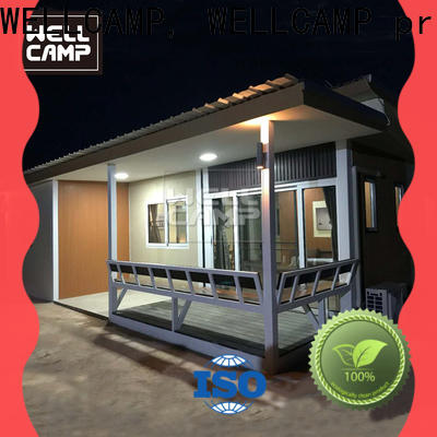 WELLCAMP, WELLCAMP prefab house, WELLCAMP container house detachable homes made from shipping containers wholesale