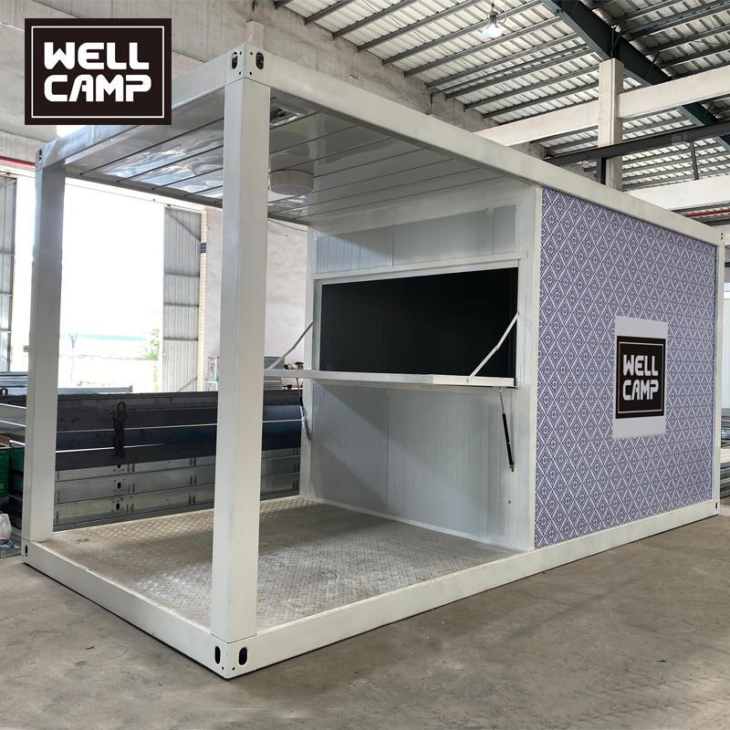 2020 Newest Mobile Portable Prefab Container Shop for Sales