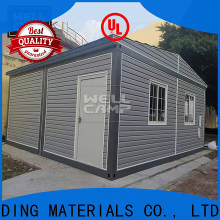 WELLCAMP, WELLCAMP prefab house, WELLCAMP container house extended shipping container house floor plans with walkway online