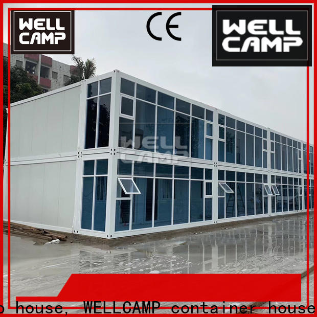 WELLCAMP, WELLCAMP prefab house, WELLCAMP container house floor crate homes supplier wholesale