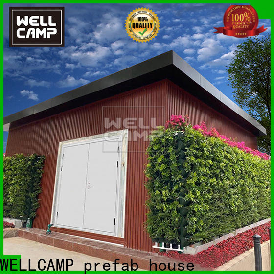 WELLCAMP, WELLCAMP prefab house, WELLCAMP container house story storage container homes for sale in garden